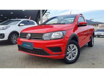 Foto numero 0 do veiculo Volkswagen Saveiro TL MBVS - Vermelha - 2021/2022